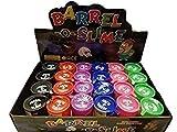 #6: Antique Wood Store Set of 4 Barrel O Slime Assort Color Child Gag Gift Party Favors Bag Fillers