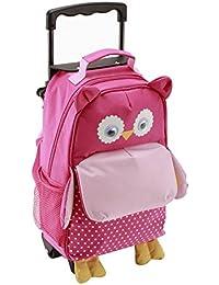 Yodo Jeu de 3voies pour enfant à bagages et pochette pour sac à dos, grande poche avant à accès rapide pour les goûters ou knickknacks, pour enfant 3ans +, Multi