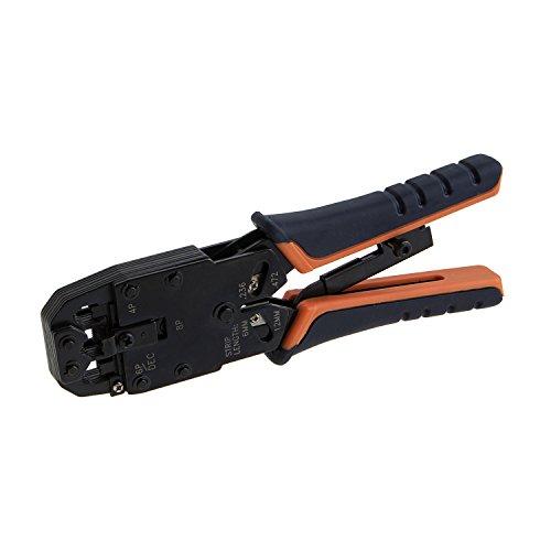 Cablecreation pinza crimpatrice a taglio e rimozione) per 8P8C/RJ-45, 6P6C/rj-12, 6P4C/RJ-11, 4P4C