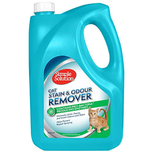 Simple Solution removedor Manchas olores Gato, 4 L