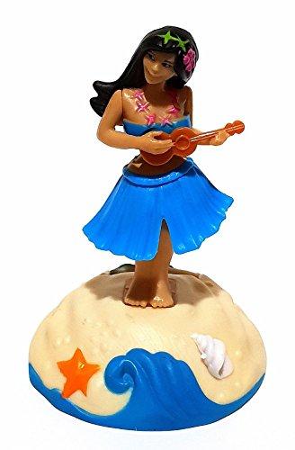 ambestore 3X Tanzende Hawai Hula Girl Solarfigur Wackelfigur Figur Auto Dekoration Ey Catcher Gadget