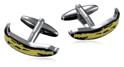 troika-shiny-gemelos-de-rodio-y-enamel-diseno-con-platano-de-andy-warhol-color-amarillo-y-negro