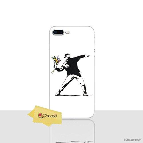 iPhone 8 Plus Banksy Silikonhülle / Gel Hülle für Apple iPhone 8 Plus (5.5