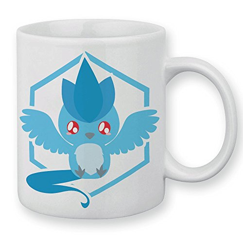 Mug Pokemon Artikodin Pokemon chibi et kawaii team Mystic by Fluffy chamalow - Fabriqué en France - Chamalow shop