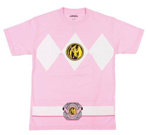 Kostüm-T-Shirt (Womens Power Ranger Kostüm)