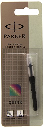 Fits all Parker fountain pens Only use Parker Quink ink to ensure optimum writing performance