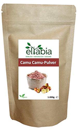 Camu-beere Pulver (eltabia Camu Camu Pulver 1kg 1000g Maxi Pack natürliches Vitamin C)