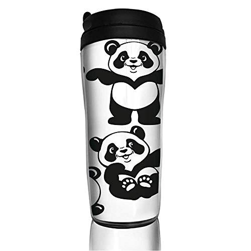 Custom Reusable Coffee Cup Butterfly Ball Becher Vakuumisolierte Reisebecher Heiß oder Kalt, 12 Unzen mit Deckel