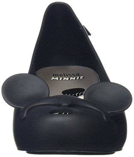 Melissa Ultragirl Minnie Mouse Ears, Peep-Toe femme Noir (noir)