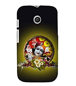 PrintVisa Murliwala Kahna 3D Hard Polycarbonate Designer Back Case Cover for Motorola Moto E :: Motorola Moto E XT1021 :: Motorola Moto E Dual SIM :: Motorola Moto E Dual SIM XT1022 :: Motorola Moto E Dual TV XT1025