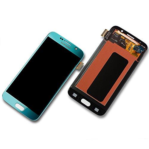 Original Samsung Galaxy S6 SM G920F G920F LCD Display Touchscreen blau topaz GH97-17260D S6-lcd
