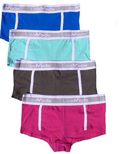 8e74f7d94337c4 ❤ 6er Pack sportliche Mädchen Pantys Hipster Shorts Greenice Gr. 98 ...