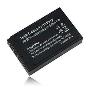 weltatec Qualitätsakku Akku Accu Digicam kompatibel mit Olympus PEN E-P1 E-PL1 E-PL3 / PS-BLS1 BLS-1 Digitalkamera - Hochleistungsakku Li-ion Akku Ersatzakku Kamera-Akku - (nur Original weltatec mit Hologramm)