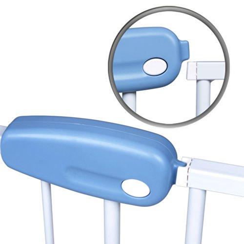 Infantastic Baby Türschutzgitter Treppengitter Kindersicherheitsgitter ca. 74 bis 87cm schwenkbar - 3