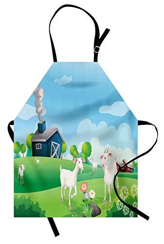 Abakuhaus agriturismo grembuıle da cucına, vita pleasant farm, tecnologia stampa digitale impermeabile resistente alle macchie, multicolore