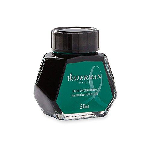 Waterman S0110770 Füllfederhaltertinte im 50 ml Tintenfass harmonious green