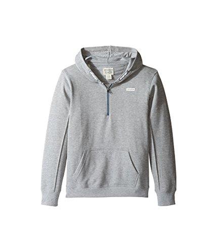 Jungen Converse Pintuck Pullover (grau Heide) Größe M - 10-12 Jahre