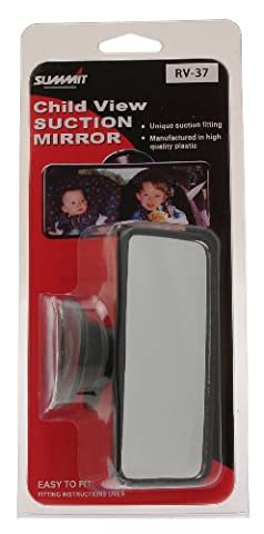Summit RV-37 Back Seat View Interior Mirror with Suction Pad