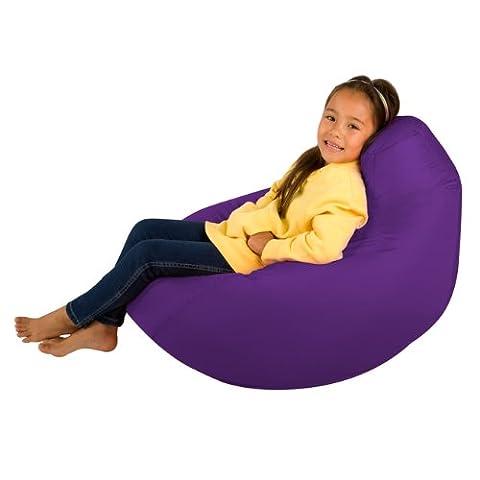 Kids Hi-BagZ - Kids Bean Bag Gaming Chair - Childrens Beanbag (Water Resistant) PURPLE