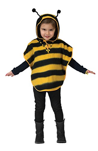 Karneval-Klamotten Biene-n Kostüm Baby Biene-n Umhang Bienen Cape Baby-Kostüm Größe 98