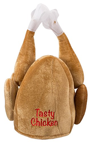 Seiler24 Durchgeknallter Crazy Chicken Hühner Hut Karneval