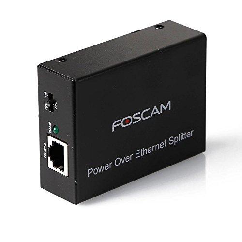 Preisvergleich Produktbild Foscam PSE15PoE Injector 10/100Mbit, Schwarz
