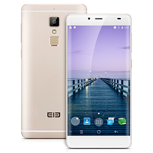 Elephone S3 – Cellulare Smartphone sbloccato Android 6.0 4 G, (5.2 FHD, Octa Cores, Dual sim, ROM 16 GB, RAM 3 GB, 5.0 MP/13.0MP, GPS). Champán