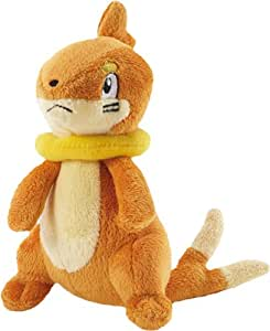Bandai - Pokemon - 86215 - 1 Figurine - Peluche - 15 cm - Buizel