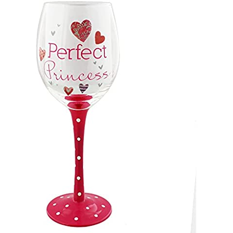 Flourish Collection Wine Glass - Perfect Princess by Flourish
