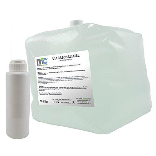 Ultraschallgel Gel 10kg Cubitainer mit Leerflasche, Sonographie-Gel, Sonogel, Leitgel -