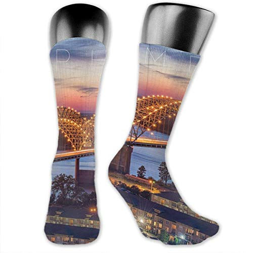 Memphis Unisex Casual Mannschaftssocken Daily Sports Socks Socks Boys
