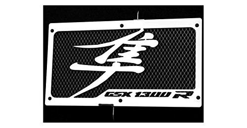 Radiator cover radiator guard VT 125 Shadow design Wing black protective mesh