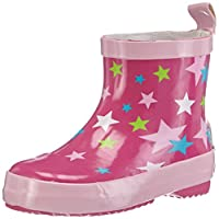 Playshoes Unisex-Child Short Stars Wellington Boots