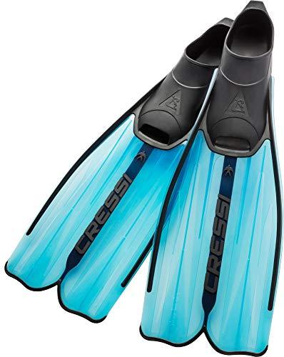 Cressi Rondinella Flossen für Schnorcheln und Schwimmen Italienische Qualität seit 1946, blau -