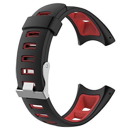 xintiandi Uhrenarmband - weiches Silikon Armband Smart Watch Band für Suunto Quest M1 M2 M4 M5, a