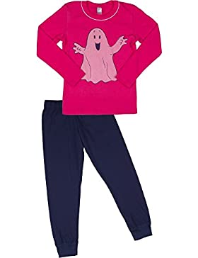 Italian Fashion IF Mädchen Schlafanzug Little Ghost 0223