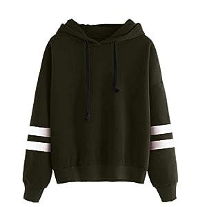 SEWORLD Damen Langarm Kapuzenpullover Damen Hoodies Langarm Kapuzenpulli Sweatshirt Pullover Tops Bluse Kapuzen Sweatshirt