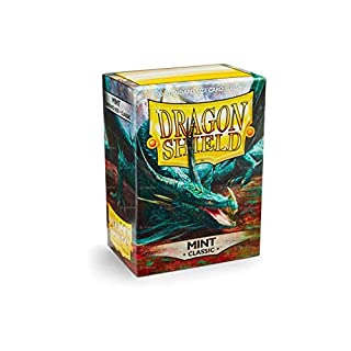 Arcane Tinmen ApS ART10025 Sleeves Dragon Shield Mint Card Game, One Size