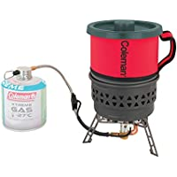 Coleman Unisex Firestorm PCS Backpacking Stove, Red