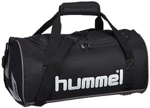 Hummel Sporttasche Bee Authentic, black / silver, 40x20x23 cm, 18.4 liters, 40-843-2250