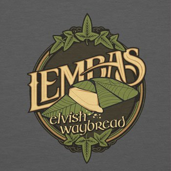 Texlab – lembas The Elvish waybread – sacchetto di stoffa Grau