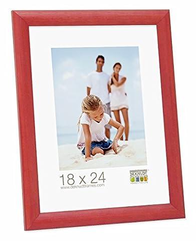 Deknudt Frames S40CL4 Cadre Photo Bois Rouge 40 x 60