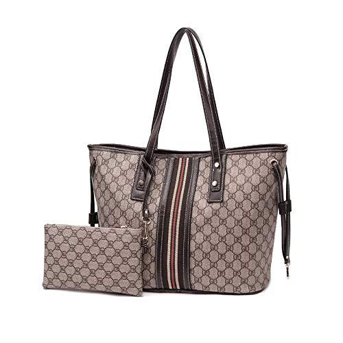 Ldyia Baotuo Tasche weiblichen Beutel Druck Mutter Tote Big Bag große Kapazität einzelne Schulter Mummy Tasche Handtasche, GD-Muster - Louis Vuitton Muster