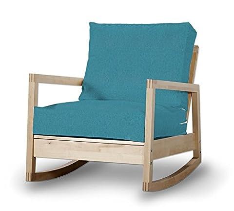 Dekoria Fire Retardant IKEA lillberg Housse de Fauteuil–Turquoise/Bleu