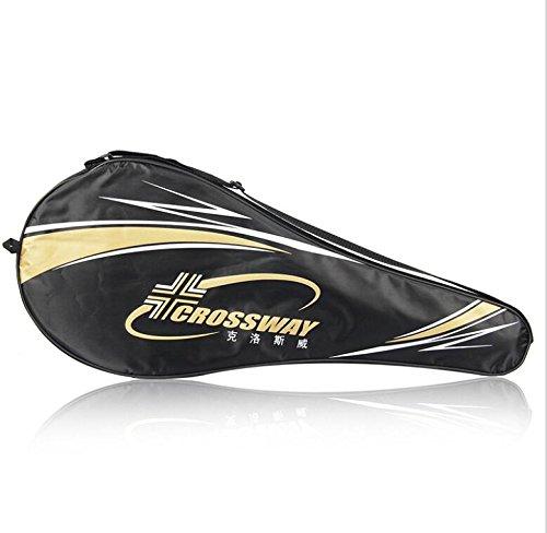 MaMaison007 Einzigen Tennis Racket Umhängetasche für Einteiler Tennisschläger Badminton Schläger ausgestattete Tasche