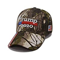 AIYANG Donald Trump Hat 2020 Camo MAGA Hat Make America Great Again Adjustable Baseball Hat