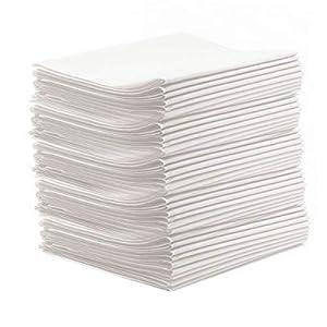 """50 Stück Vlieslaken""""classic PP50″ Hygieneauflage 80×200 cm Waschfaserlaken Sparpaket (bis 200 x waschbar) Waschfaserlaken Waschvlieslaken Laken für die Massageliege"""