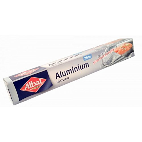 Albal - ALBAL - Aluminium ménager renforcé 20 m x 29,5 cm