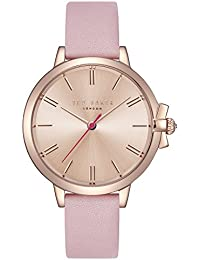 c56ef9f0c12 Ted Baker Womens Analogue Quartz Watch with Leather Strap TE50267005