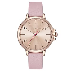 Ted Baker Womens Analogue Quartz Watch with Leather Strap TE50267005